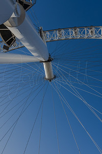 Abstract view of the London Eye
