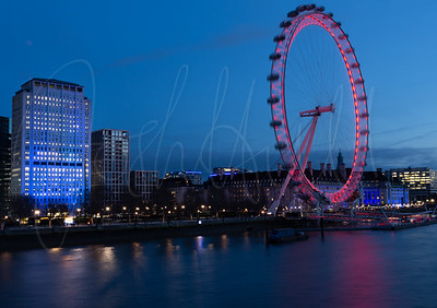 Blue Hour over the River Thames