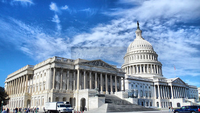 Capitol building in Washington DC.