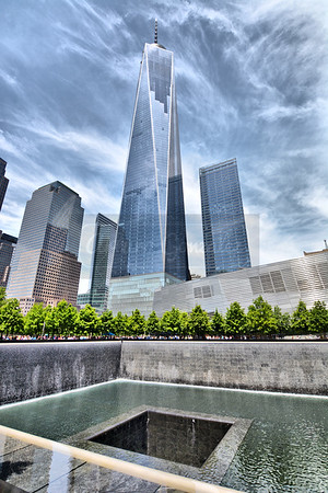 One World Trade Center & 9/11 Memorial.