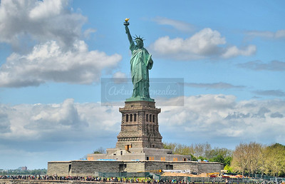 Stature of Liberty.