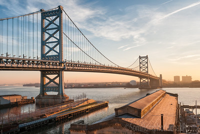 Benjamin Franklin Bridge, Philadelphia PA