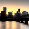 Sunset Portland Oregon