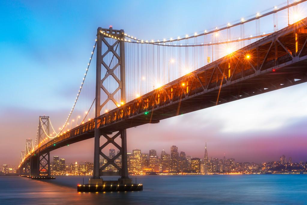 Bay Bridge Sunset