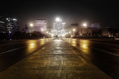 The Glow of Ottawa at Night