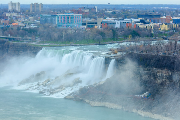 Spring mood, Niagara Falls, US side