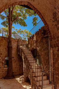 Ancient stairs.