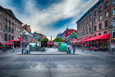 The old city  of Montreal,