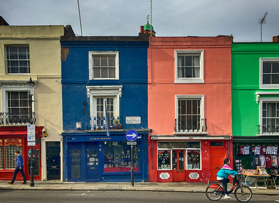 Sunday Morning on Portobello Road