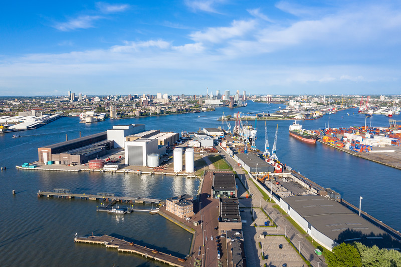 Rotterdam from above