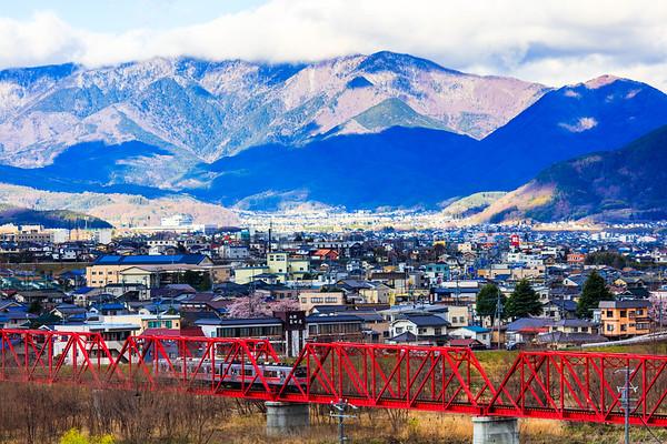 Ueda Cityscape, Nagano