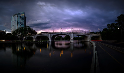 After the Storm, Bank Street Bridge - Ottawa, ON
