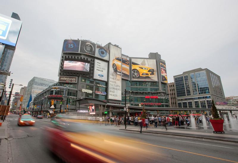 Dundas Square Yonge Street Toronto