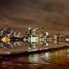 Toronto Polson Pier Winter Night