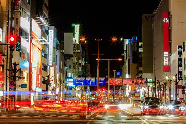 A starry night, Yamagata, Japan
