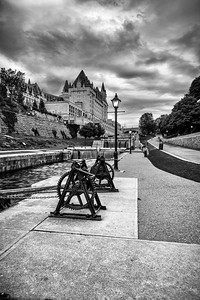 The Locks - Fairmont Chateau Laurier