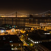 San Francisco Bay Bridge from Telegraph Hill