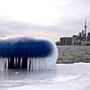 Toronto Polson Pier Winter