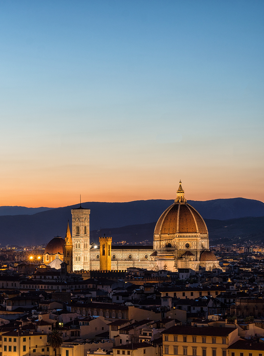 firenze, florence, hdr, sunset, blue hour, cathedral, Cattedrale di Santa Maria del Fiore, sunset, blue hour, sony, sony a6500, city, mountains