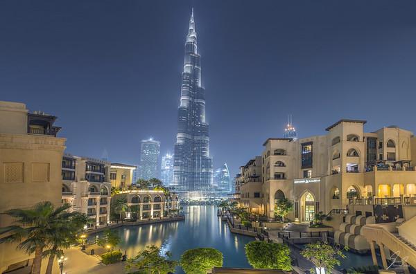 Burj Khalifa, Dubaï, United Arab Emirates