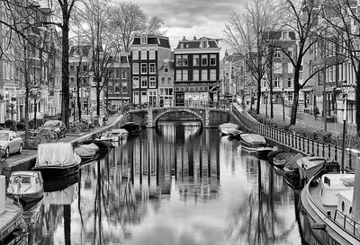 Morning in Amsterdam