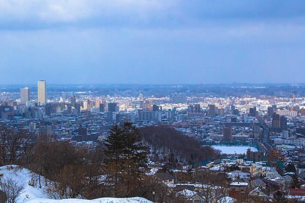 March, Sapporo, Hokkaido, Japan