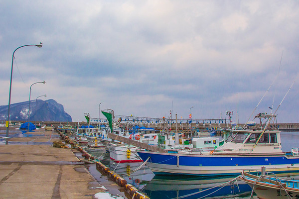 Yoichi Harbor, Hokkaido, Japan