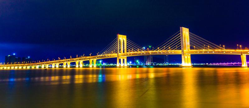 Golden Moment, Sai Van Bridge, Macau, China