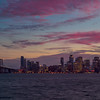 Bay Bridge, San Francisco, City, Landscape, Sunset