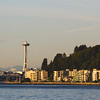 Space Needle from Alki Beach