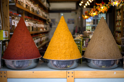 Spices in Tel Aviv, Israel