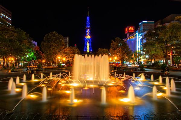 Beautiful Sapporo, Hokkaido, Japan