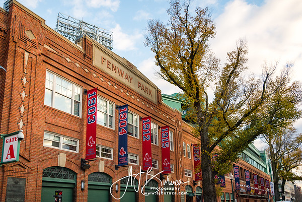Fenway Park Banners