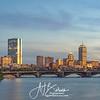 Boston Skyline Blue Hour