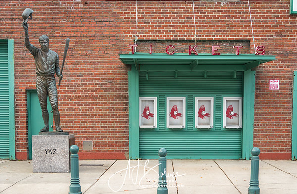 Fenway Park Ticket Booth