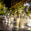 Downtown Salt Lake Water Fountains