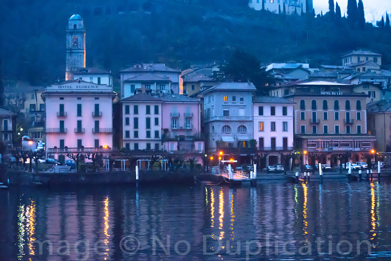 Dusky Bellagio - February 2014<br /> Bellagio, Italy<br /> (2x3)<br /> Best Reproduction - No Larger Than 12x18