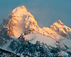 Dawn Of The Tetons - 2011<br /> 4x5