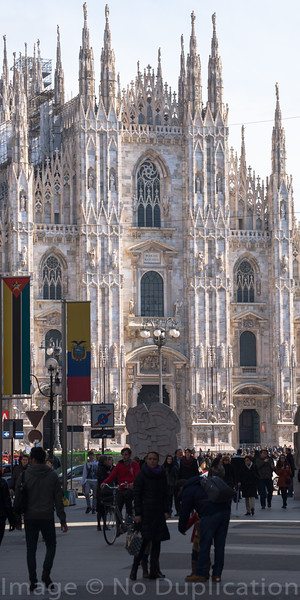 Duomo Di Milano - March 2014<br /> Milan, Italy<br /> (1x2)<br /> Best Reproduction - No Larger Than 6x16