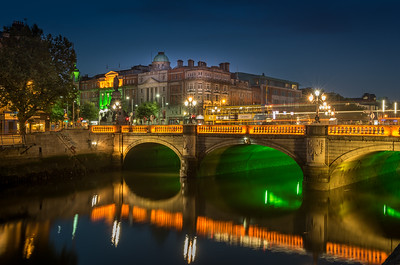 O'Connell Bridge over the River Liffey, Dublin, Ireland