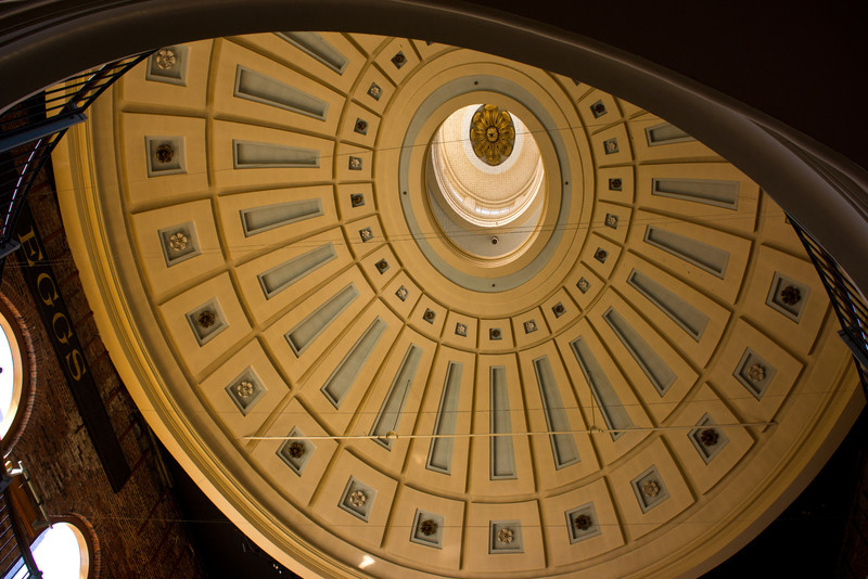 Dome at Quincy Market, Faneuil Hall, Boston, by David Everett