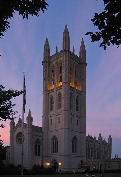 Trinity Chapel at Sunset, by David Everett