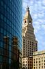 Famous Travelers Tower landmark in downtown Hartford