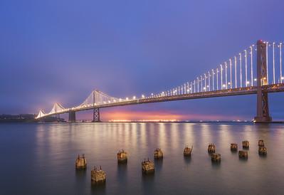 Glowing in the Fog || San Francisco