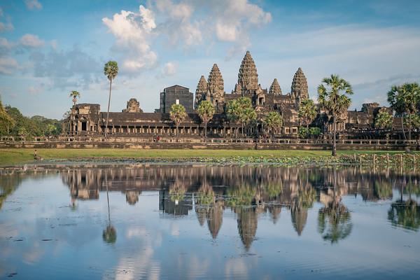 Aqua Reflections    Angkor Wat