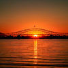 Blue Bridge Sunset in Kennewick