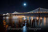 Bay Bridge Moon