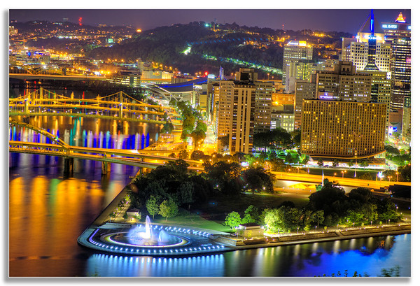 Pittsburgh shines above all