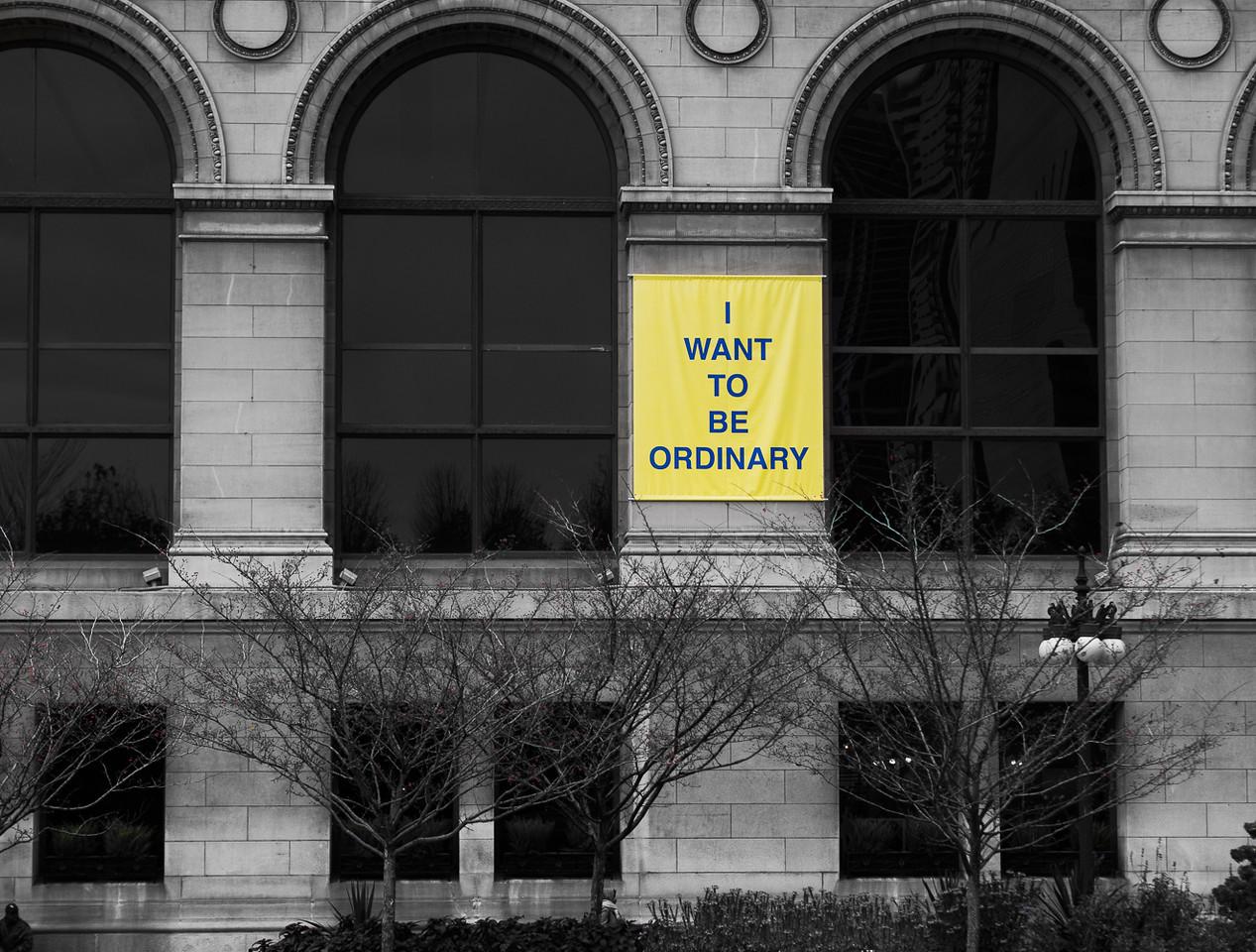 I Want To Be Ordinary