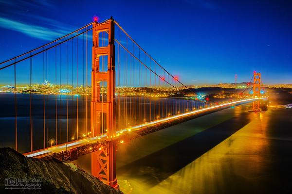"""Spanning the Golden Gate,"" Battery Spencer, Golden Gate Bridge, Marin Headlands, San Francisco, California"